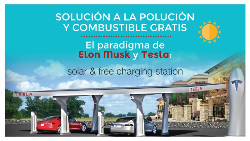 Reto Tesla y estaciones de carga gratuita
