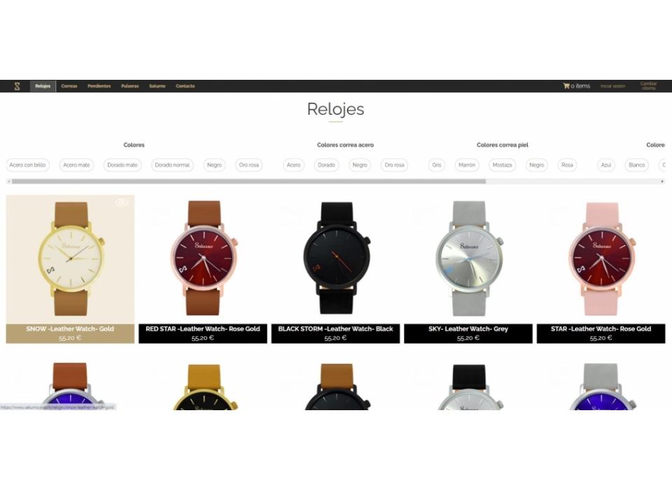 Saturno Watch tienda
