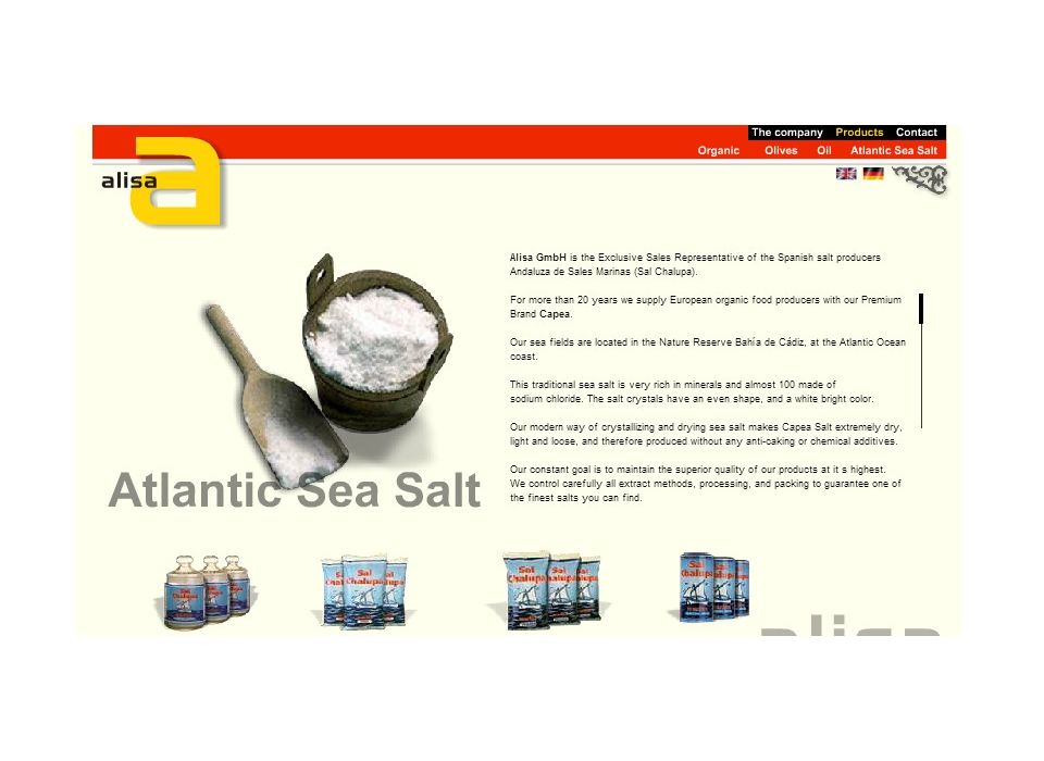 Alisa Atlantic Sea Salt
