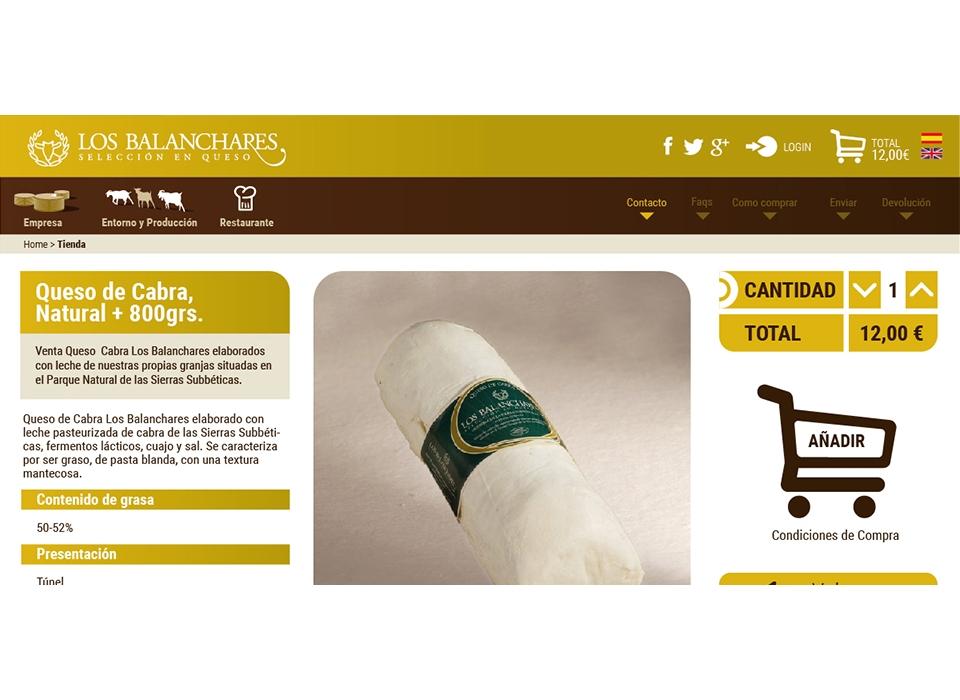 producto web los balanchares queso artesano