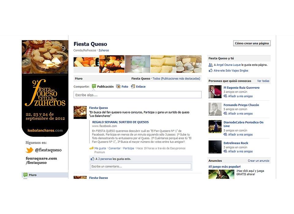 Fiesta Queso Facebook