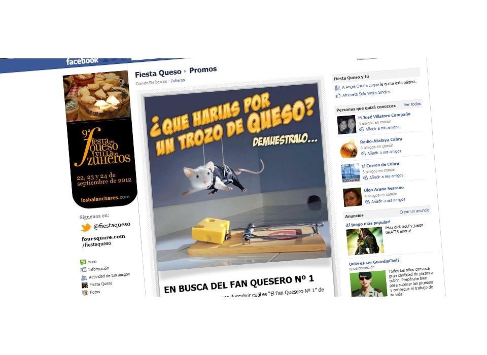 Fiesta Queso Facebook Promo