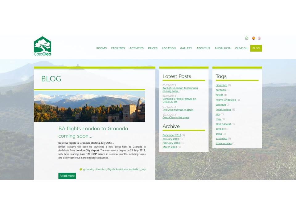 Blog Turismo Rural Casa Olea