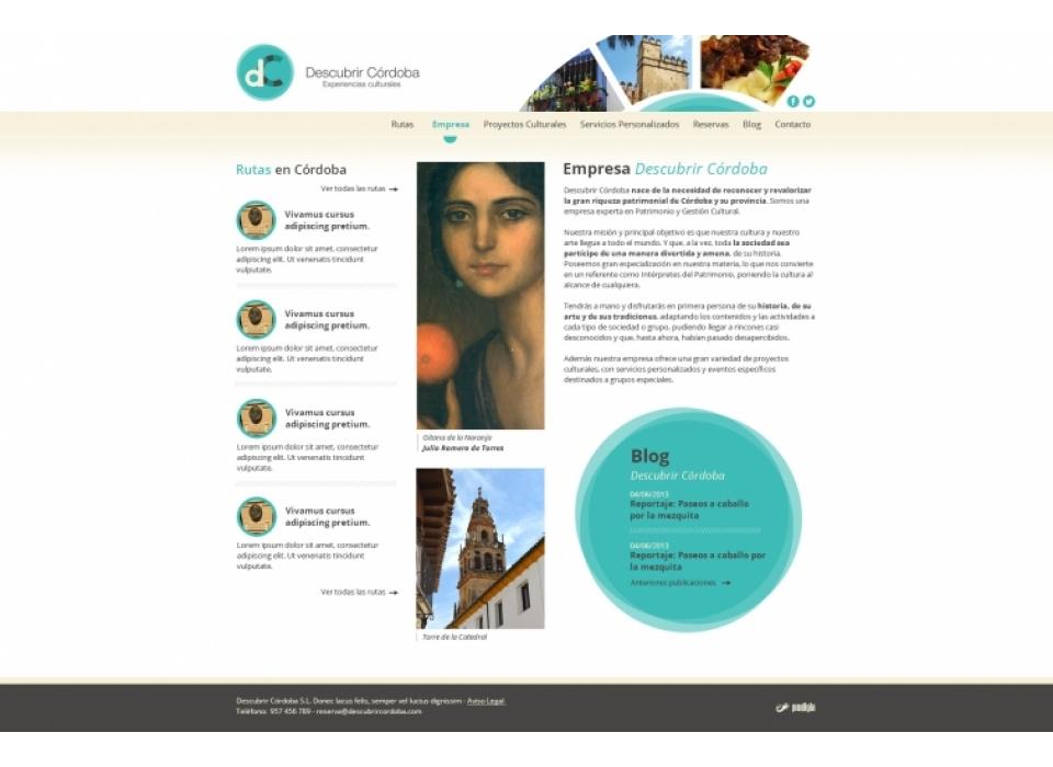 Empresa Descubrir Córdoba
