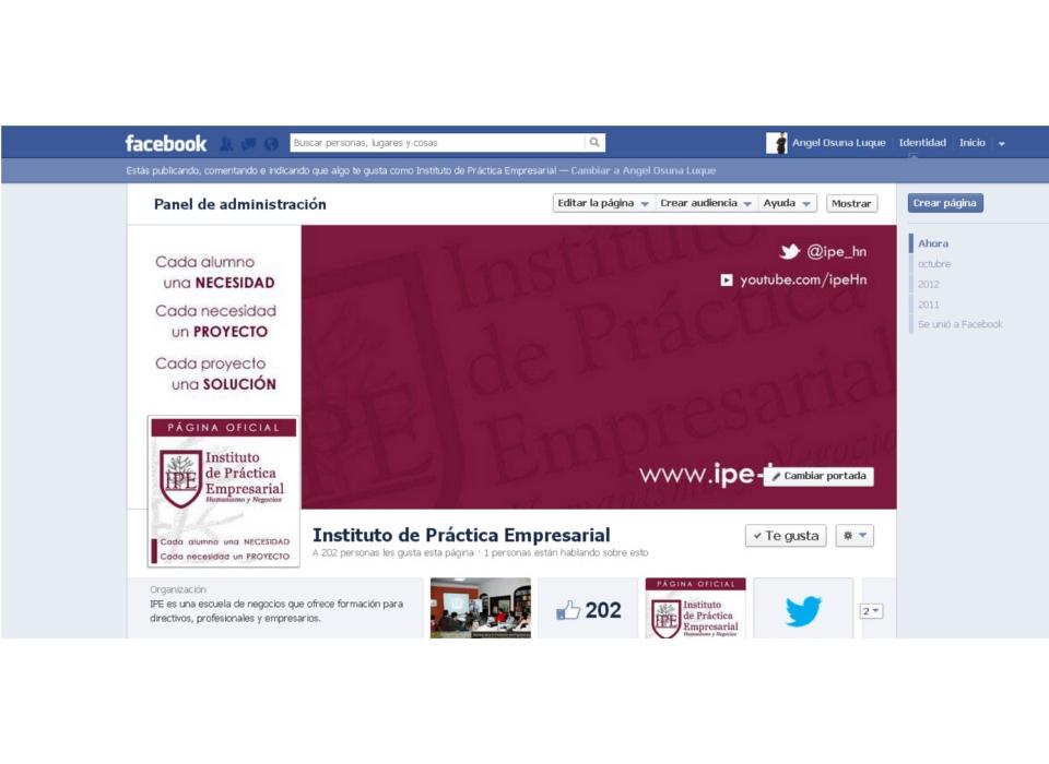 Captura Facebook Ipe-hn