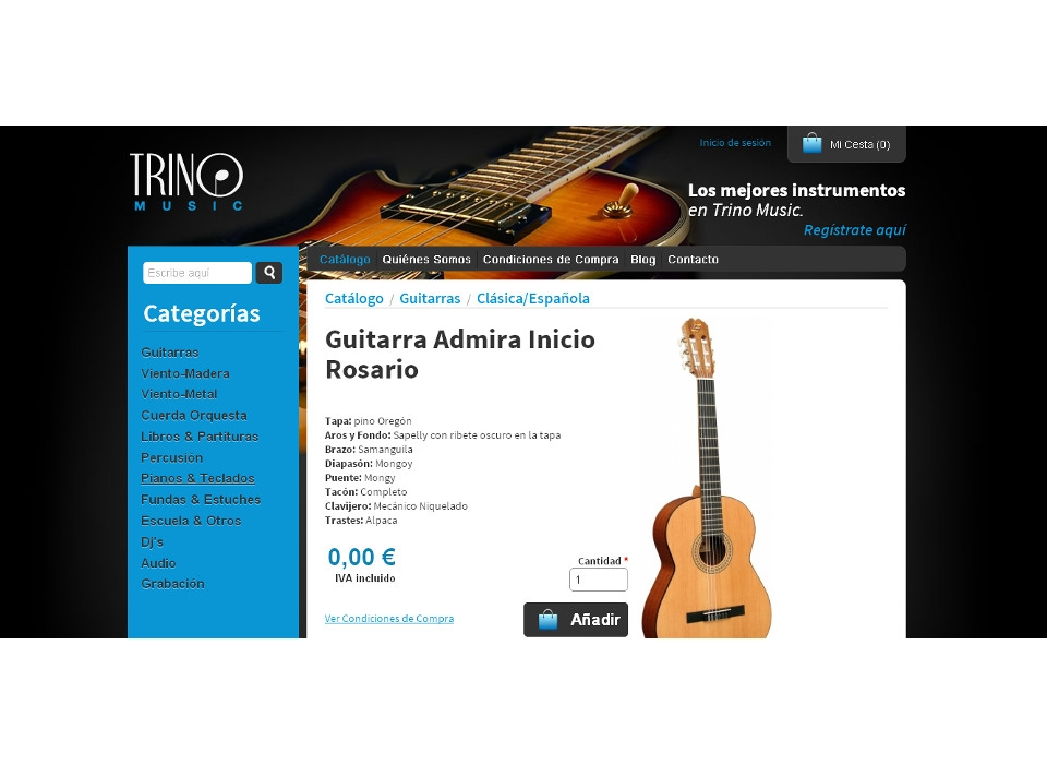 Productos Trino Music