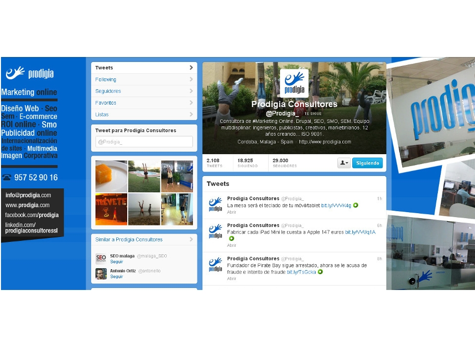 Captura Twitter Prodigia