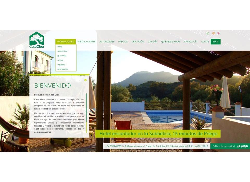 Web Casa Olea Hotel Rural