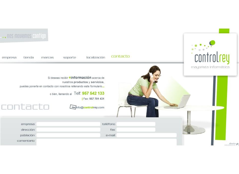 Contacto Mayorista Informática Neobit ControlRey