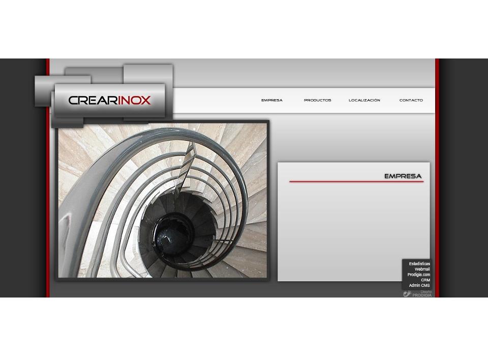 Web Crearinox