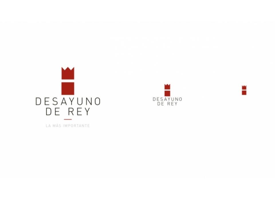 Desayuno de Rey desarrollo logotipo