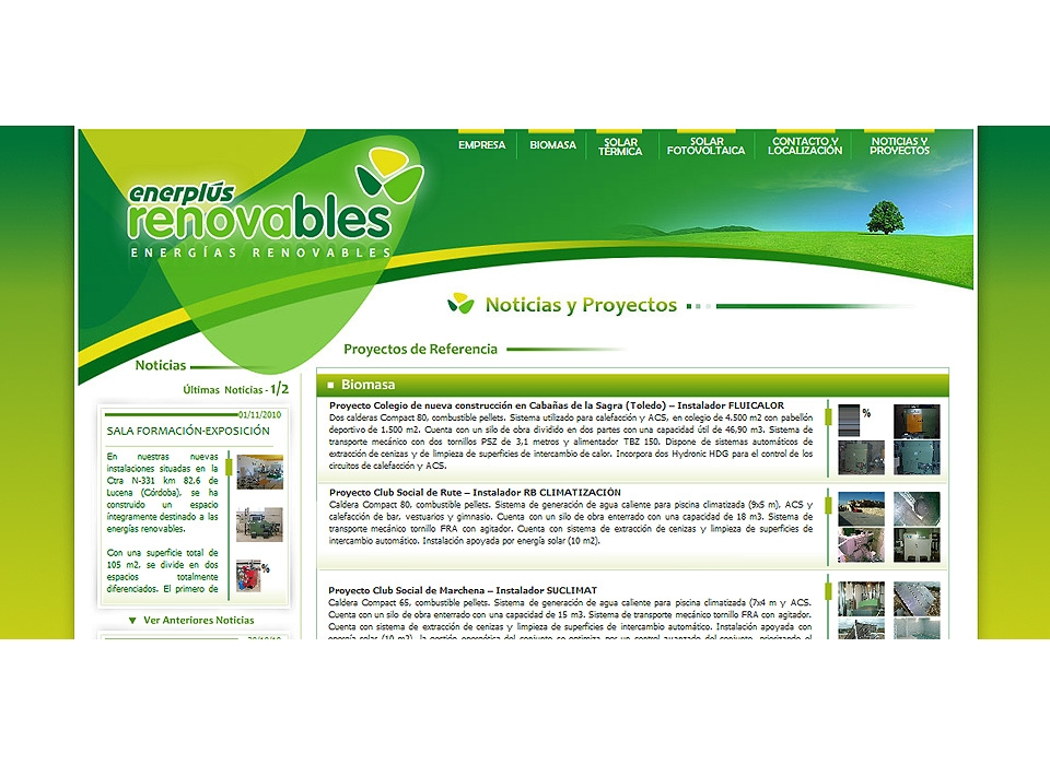 Web Enerplus Renovables
