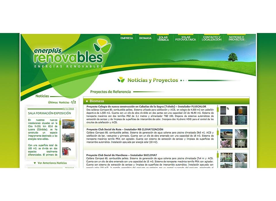 Web Enerplus Renovables