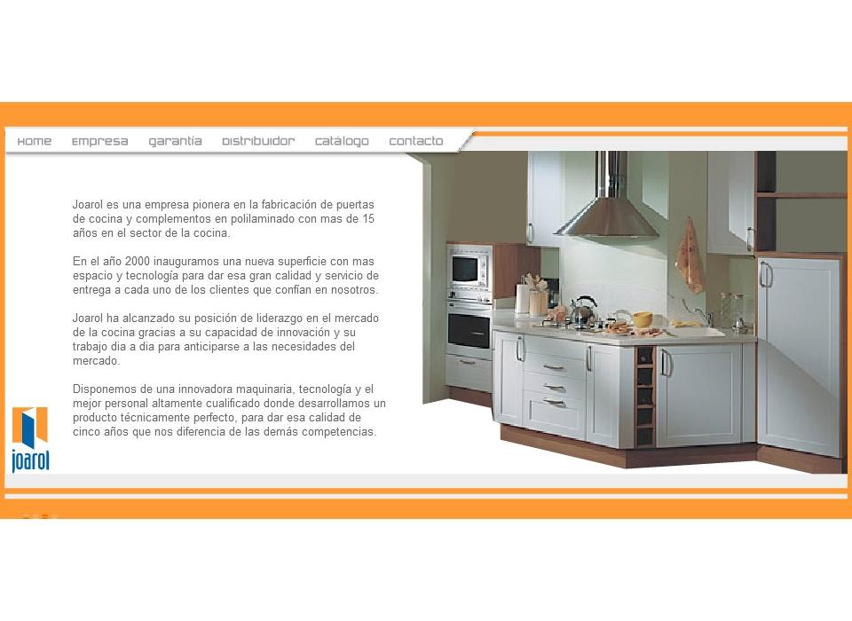 Proyecto de dise o web para joarol sector industrial en espa a andaluc a c rdoba lucena - Cocinas en lucena ...