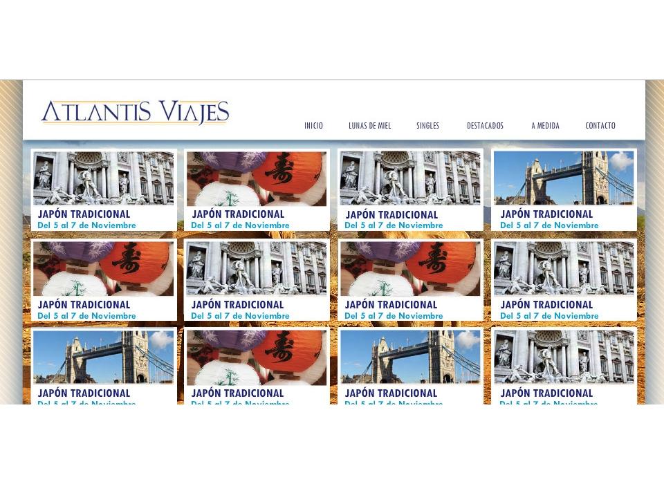 Galería de Viajes de Atlantis Viajes