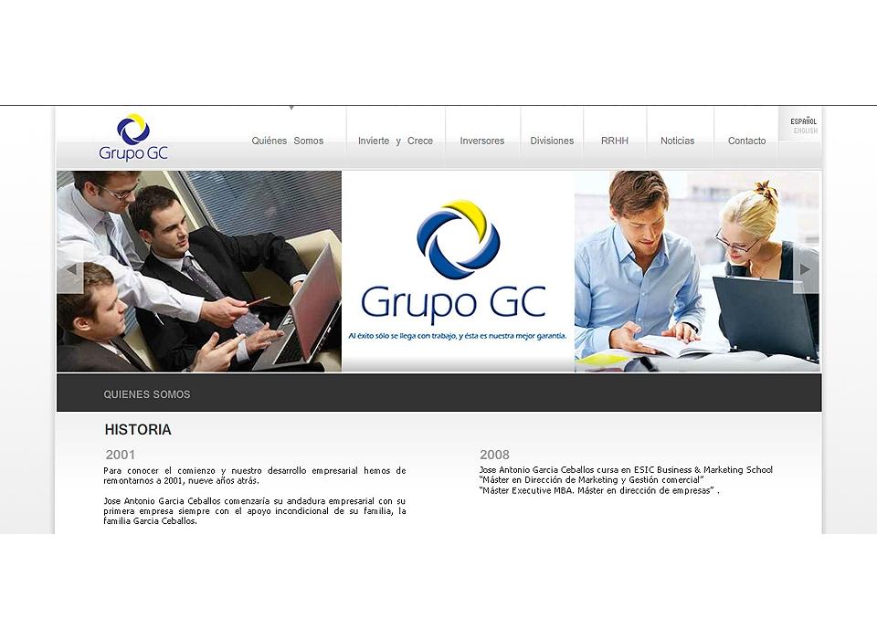 Web Grupo GC