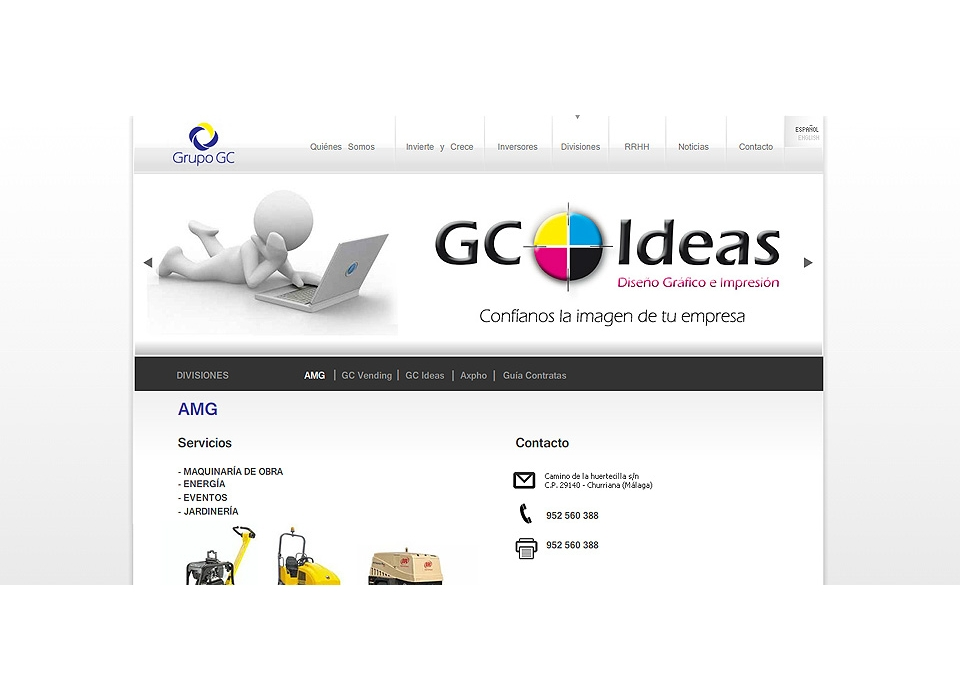 Web Grupo GC