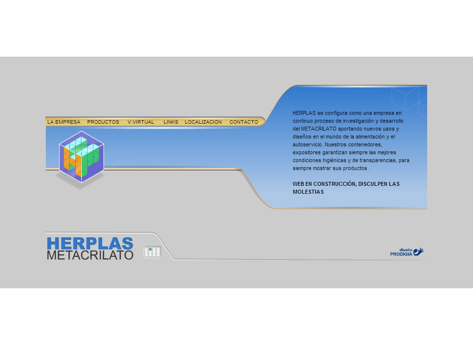Web Herplash Metacrilato