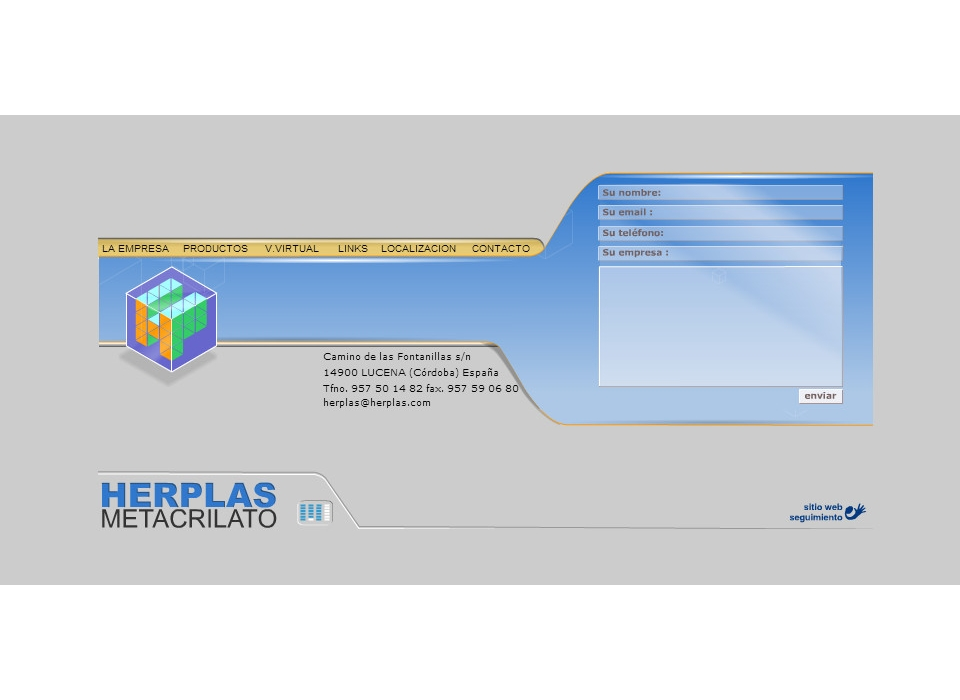 Contacto Direccion Herplas Metacrilato