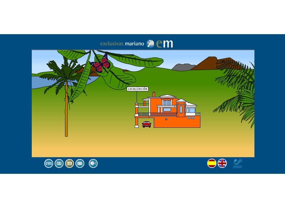 Localización Inmobiliaria Exclusivas Mariano. Costa del Sol