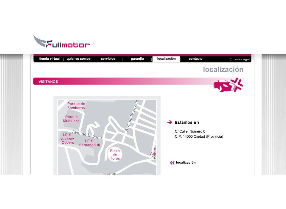 Localizacion Coches Online Fullmotor
