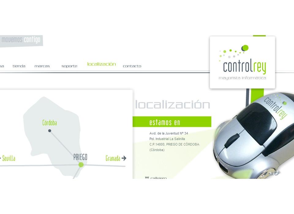 Localización Mayorista Informática Neobit Control Rey