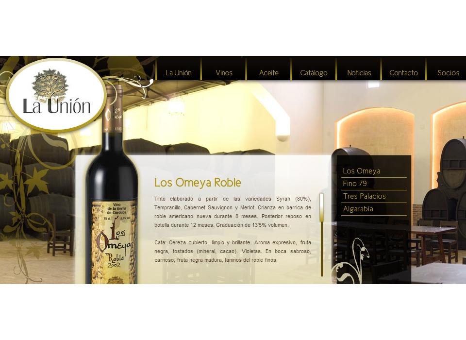 Vinos Los Omeya Roble - Cooperativa La Unión Montilla