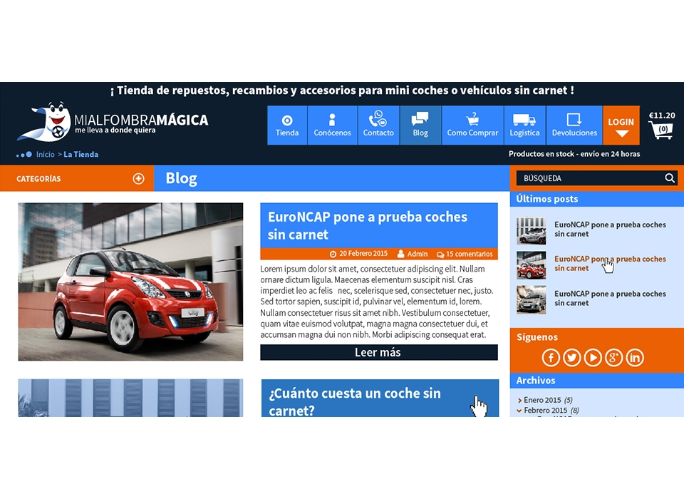blog vehiculos sin carnet