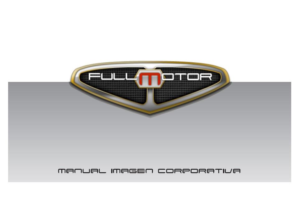 Manual Imagen Corporativa Fullmotor