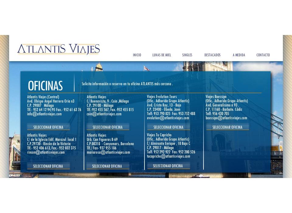 Oficinas Atlantis Viajes