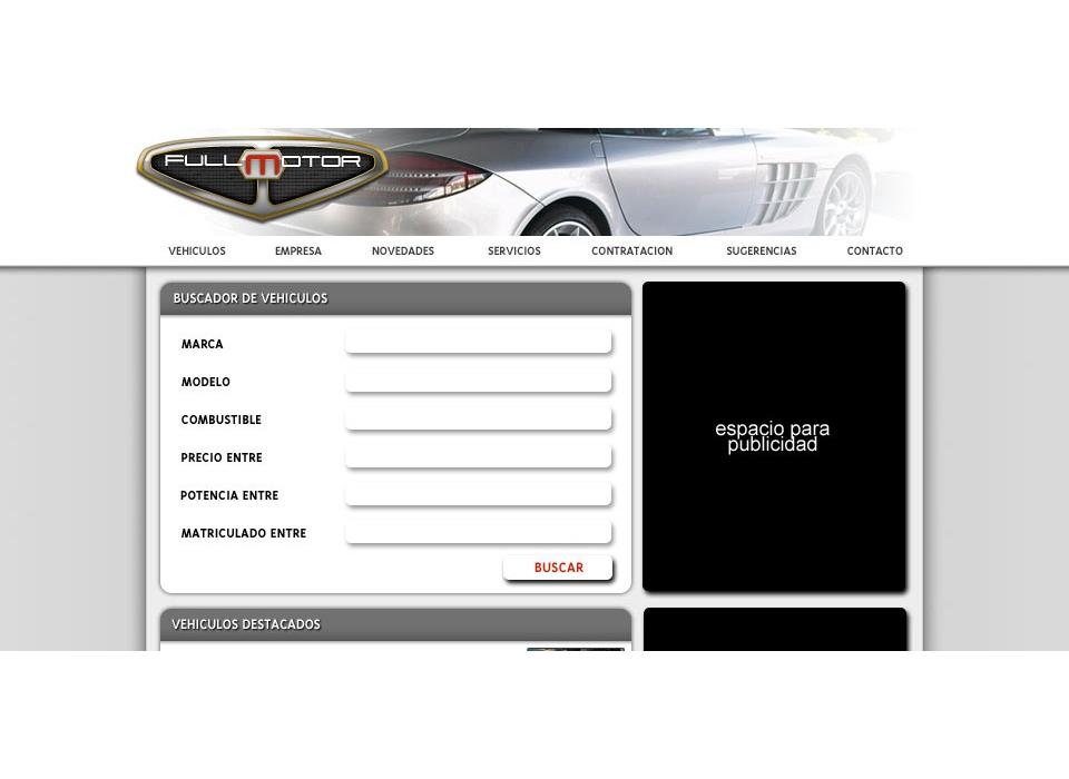 Portal Vehículos Ocasion Fullmotor