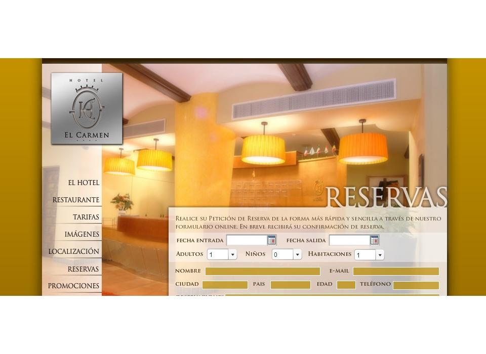 Reservas Hotel El Carmen - Puente Genil