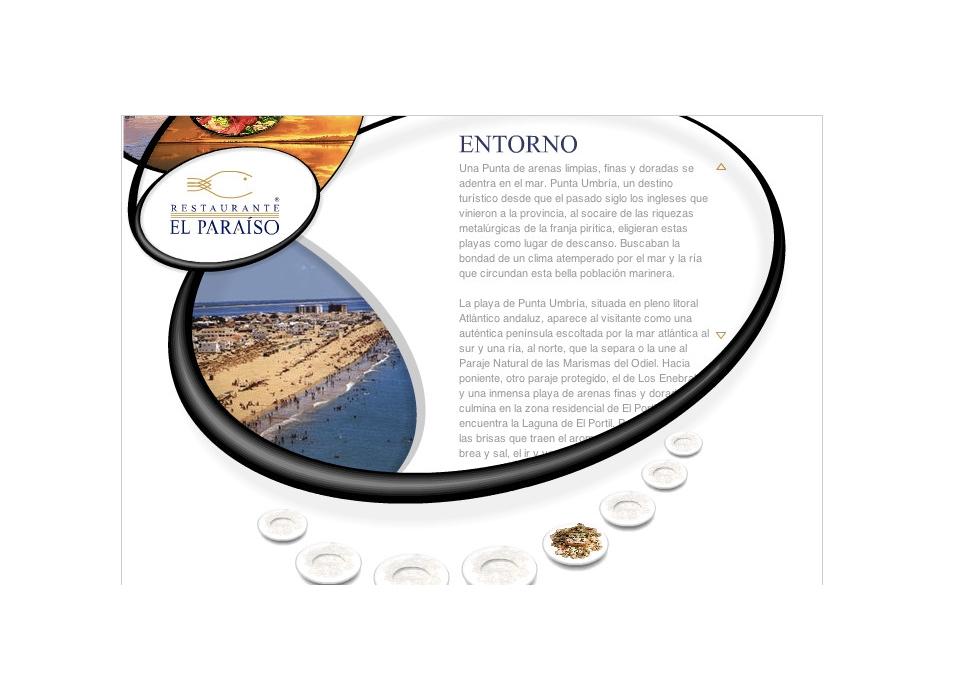 Entorno Restaurante El Paraíso - Punta Umbría - Huelva
