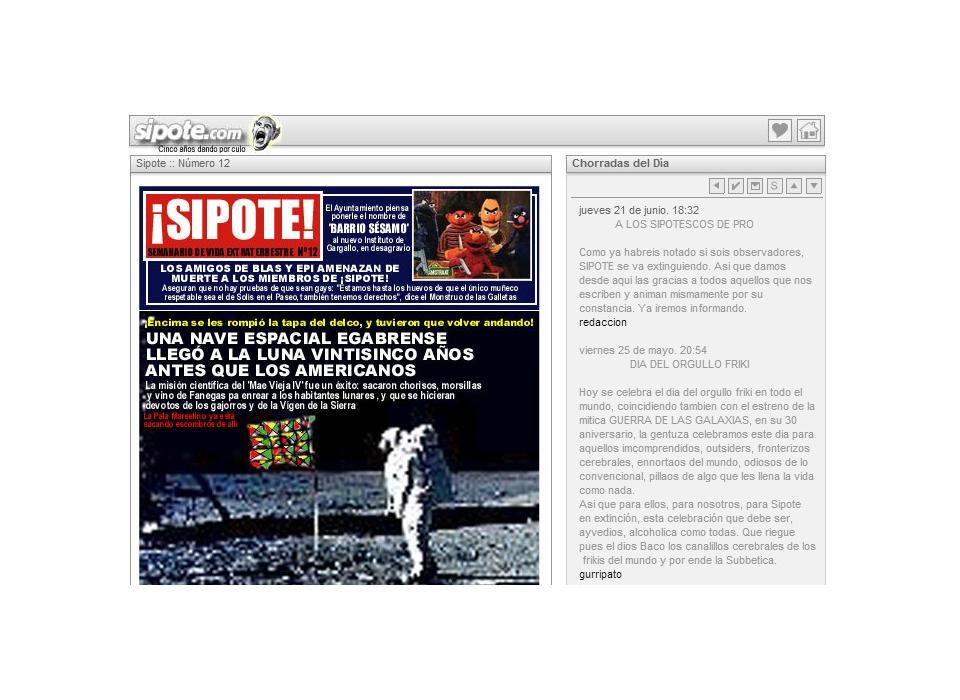 Revista de humor Sipote - Cabra