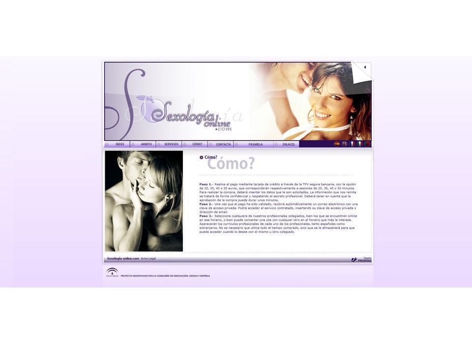 Captura Sexología Online