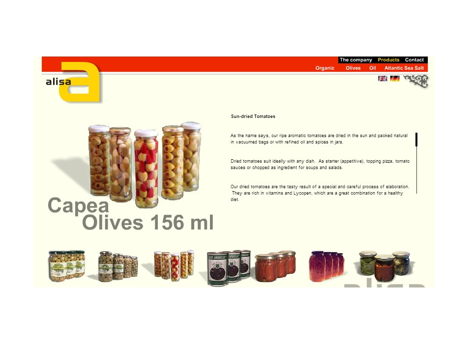 Spanish Olives Alisa
