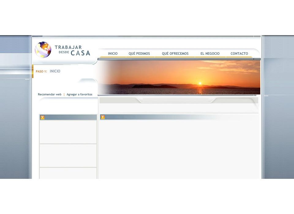 Proyecto de dise o web para trabajar desde casa sector - Trabajar desde casa ofertas ...