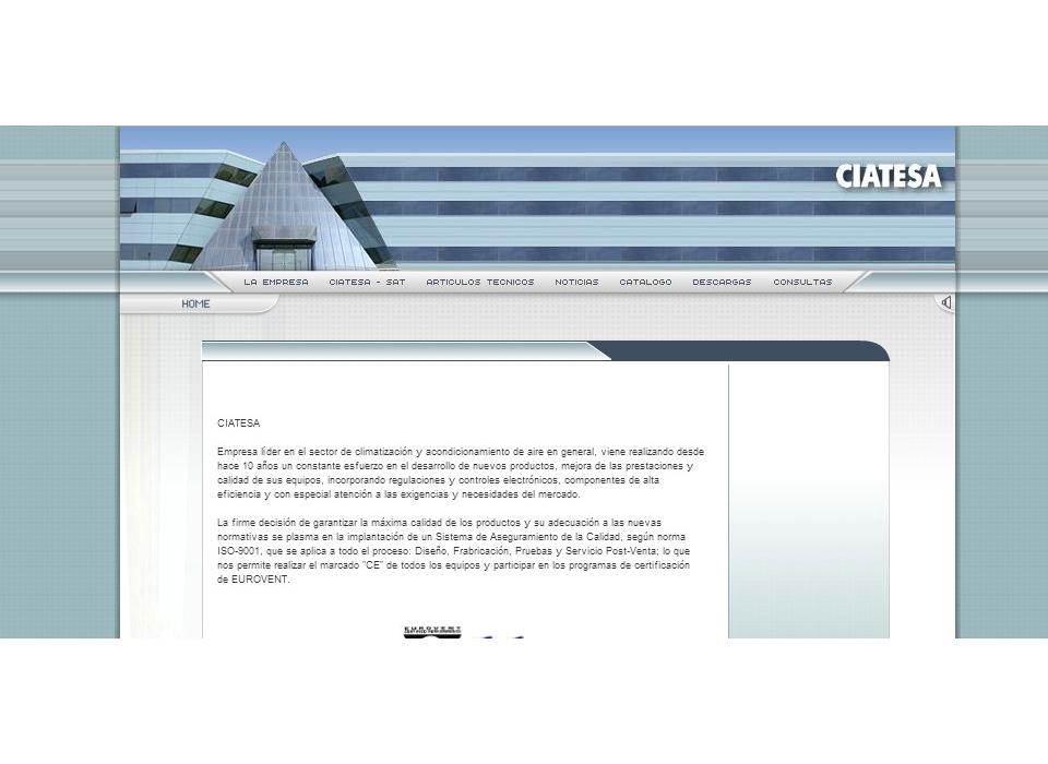 Web Ciatesa - Montilla