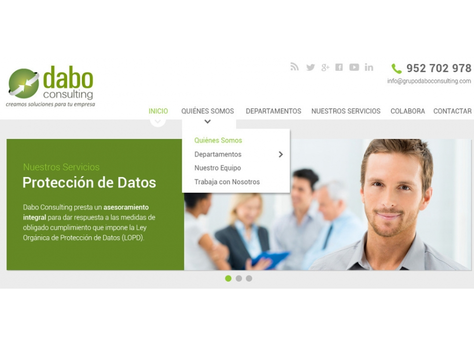 Web Dabo Consulting Home