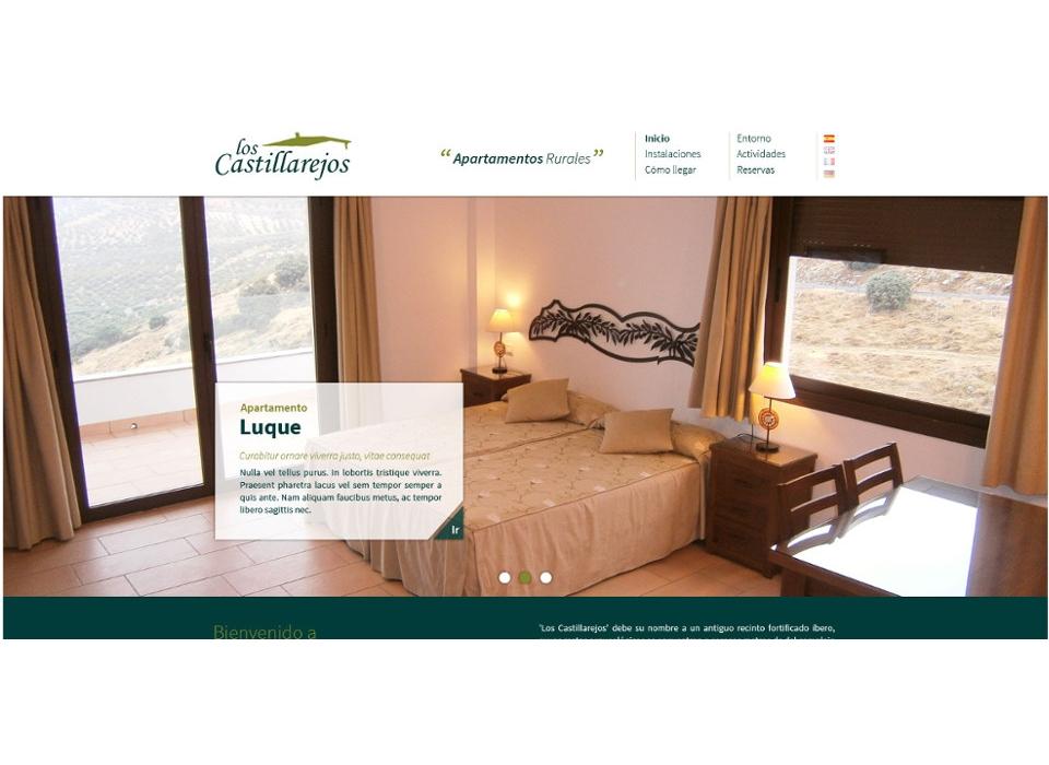 Web Los Castillarejos. Apartamentos Rurales en Zuheros