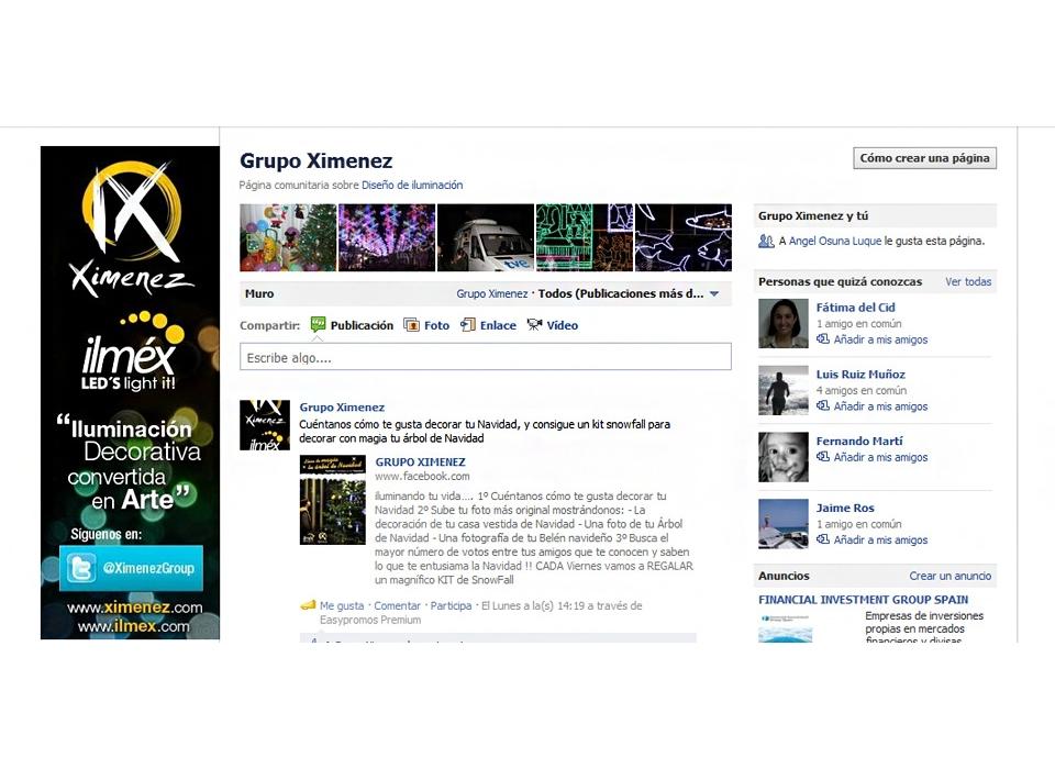 Ximenez Facebook