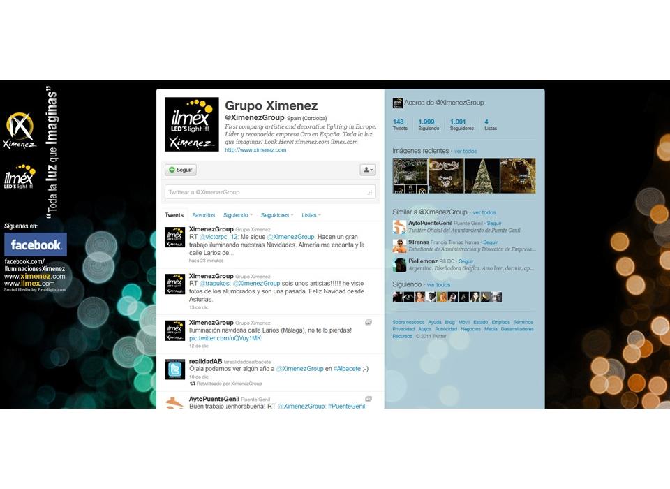 Ximenez Twitter