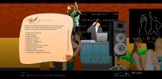 """Sección """"Servicios"""" - Sitio Web Animusic"""