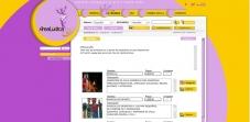 """Sección """"Catálogo"""" - Sitio Web Área Lúdica"""