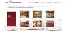 """Sección """"Restaurante"""" - Sitio Web Casa Andrés"""