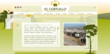"""Sección """"Entorno"""" - Sitio Web Casa El Cortijillo"""