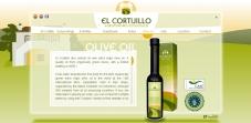 """Sección """"Productos"""" (En Ingles) - Sitio Web Casa El Cortijillo"""