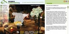 """Sección """"Localización""""  - Sitio Web Casas de la Subbética"""