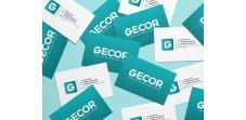 Diseño de tarjetas Gecor