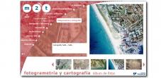 """Sección """"Fotogrametria y cartografía"""" - Sitio web M2TSL"""